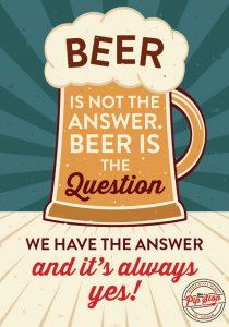 Beer Pip Stop