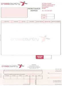 Cross Country Invoice
