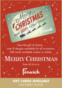 Fenwicks - Merry Christmas